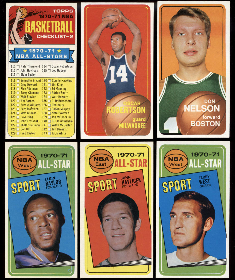 1970-71 Topps Basketball Complete Set Pete Maravich BVG 7