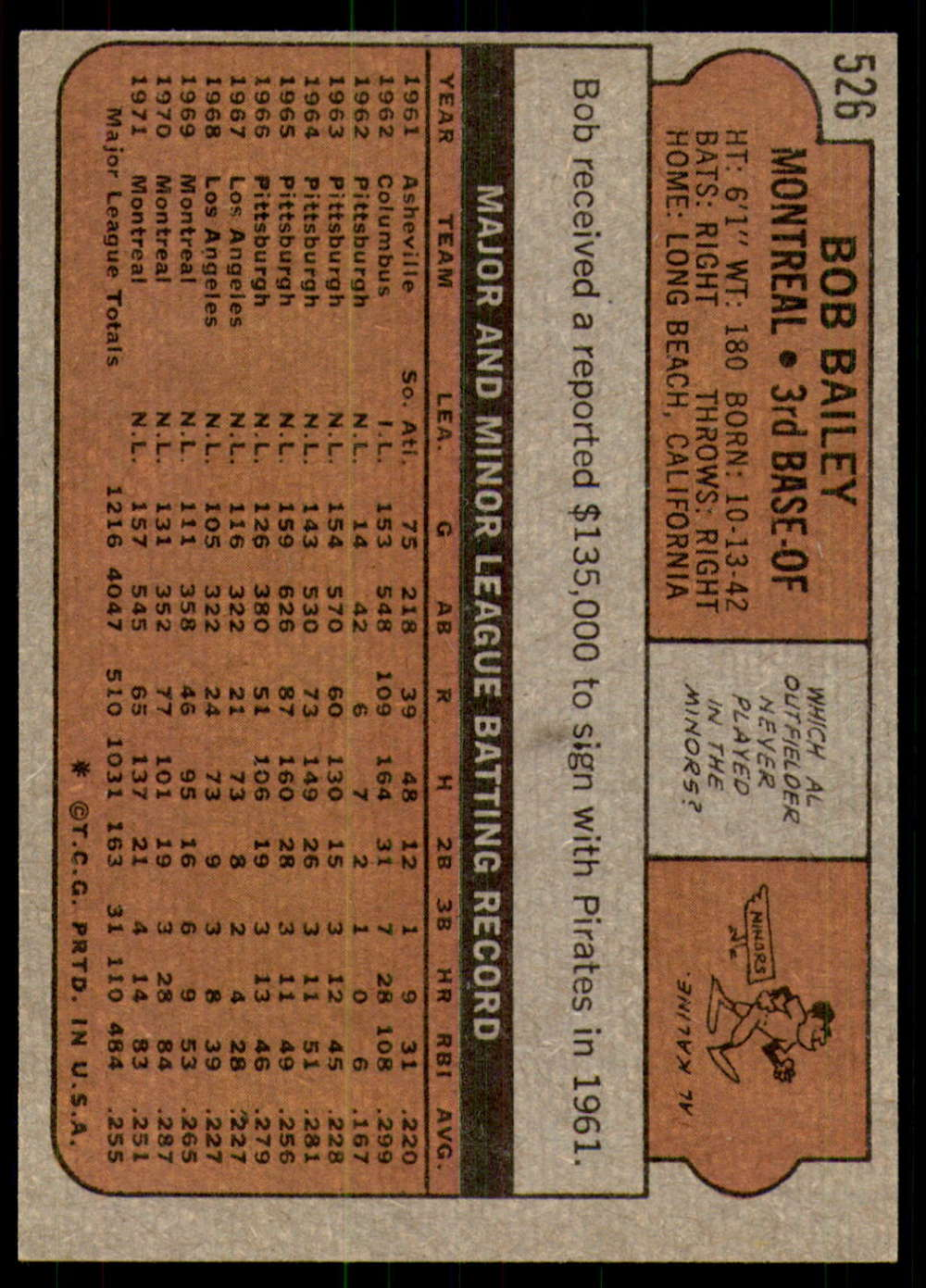 1972-Topps-Baseball-Set-497-787-Pick-Your-Card-Each-Card-Scanned-Front-amp-Back thumbnail 21