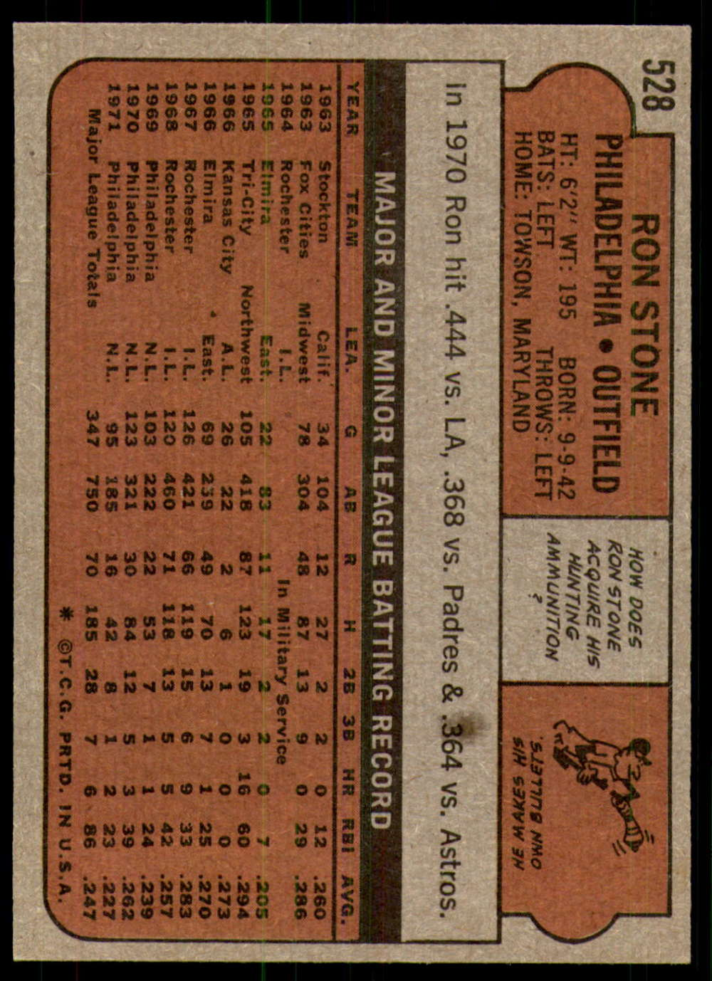 1972-Topps-Baseball-Set-497-787-Pick-Your-Card-Each-Card-Scanned-Front-amp-Back thumbnail 23