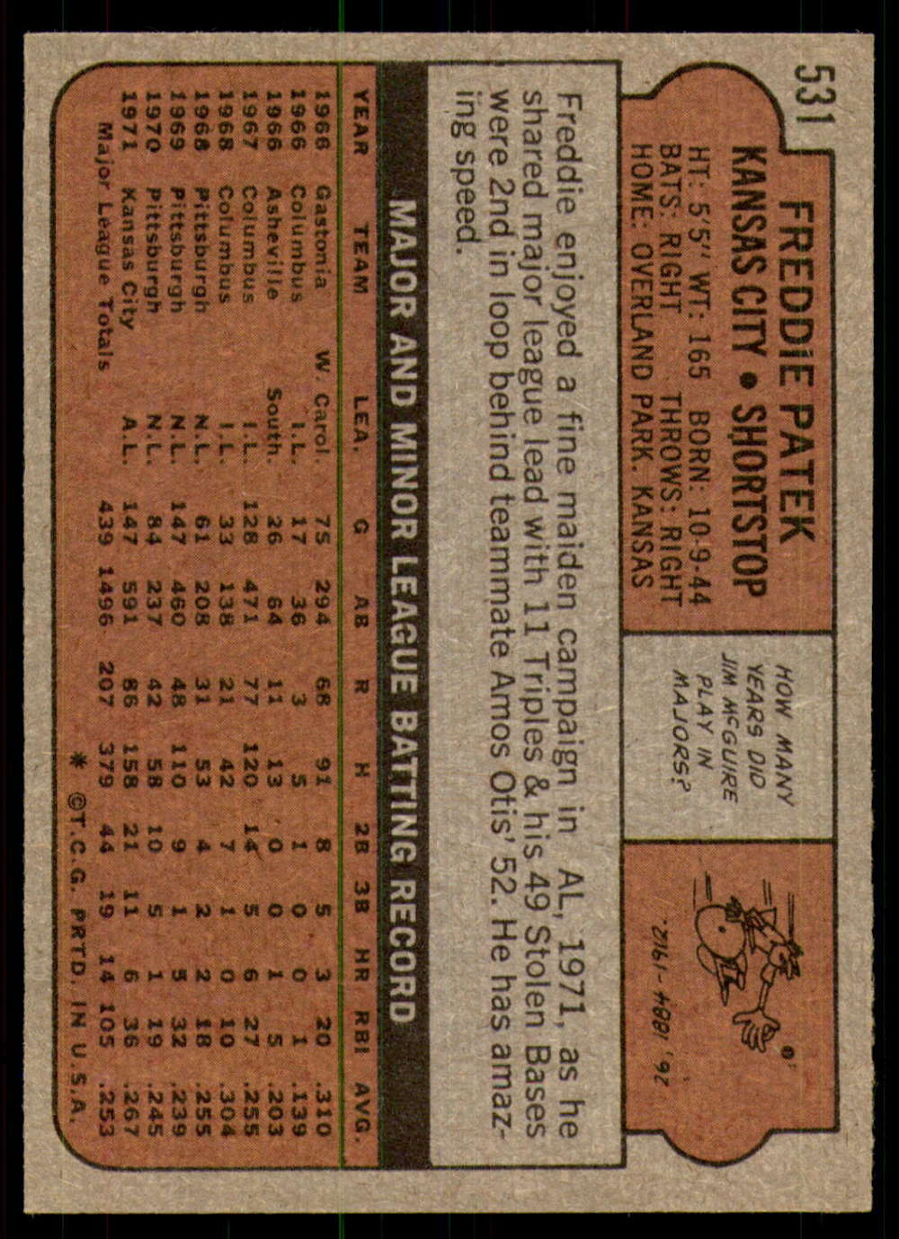 1972-Topps-Baseball-Set-497-787-Pick-Your-Card-Each-Card-Scanned-Front-amp-Back thumbnail 31
