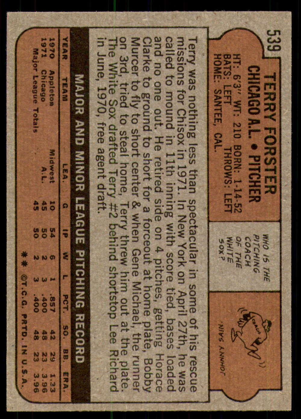 1972-Topps-Baseball-Set-497-787-Pick-Your-Card-Each-Card-Scanned-Front-amp-Back thumbnail 55