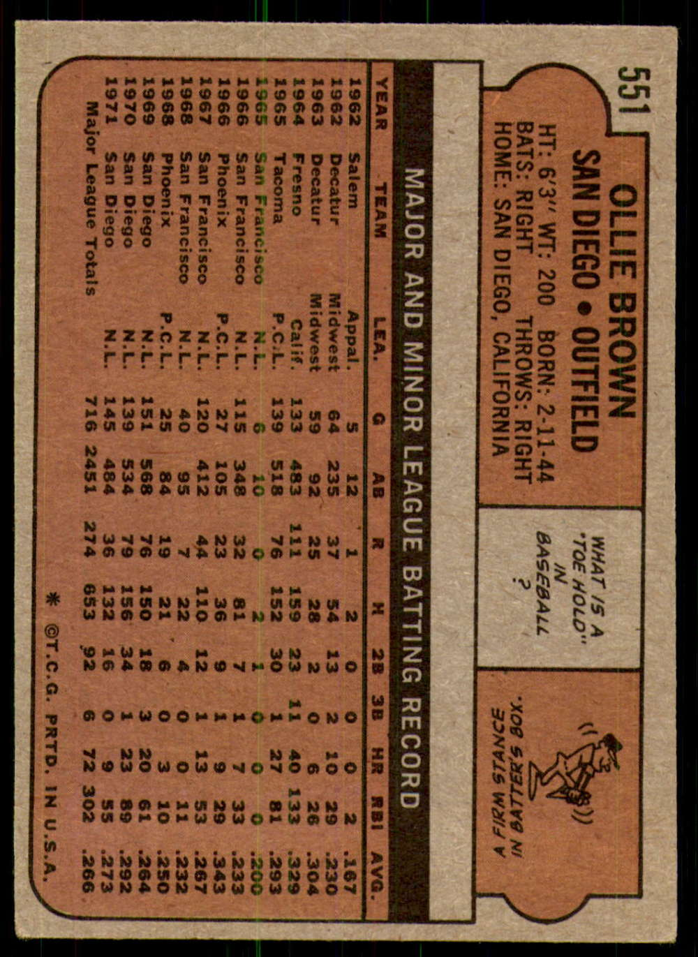 1972-Topps-Baseball-Set-497-787-Pick-Your-Card-Each-Card-Scanned-Front-amp-Back thumbnail 95