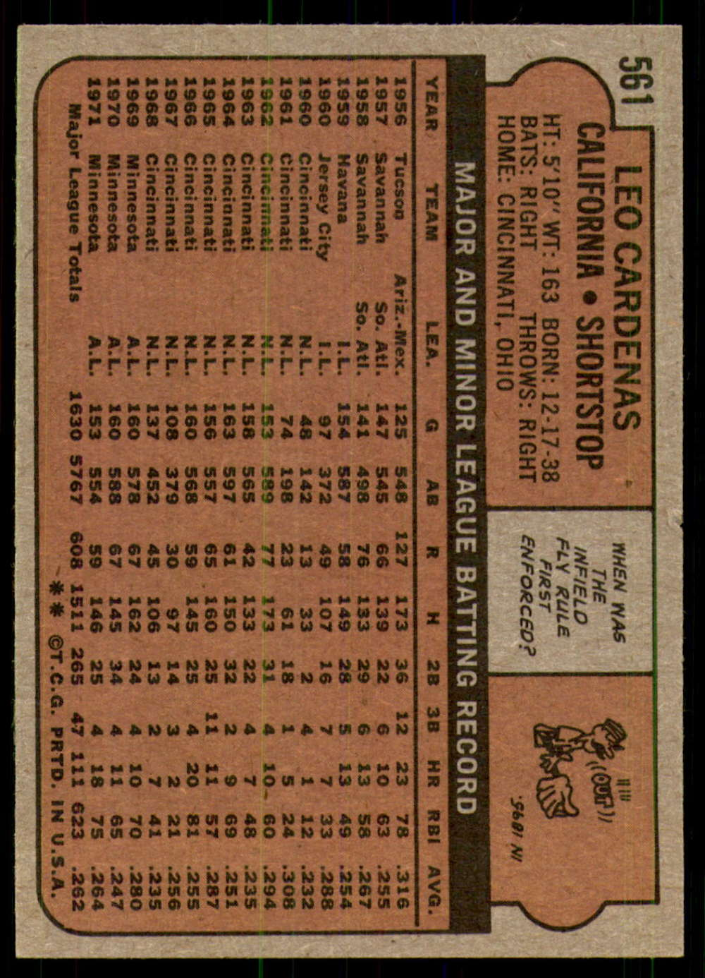 1972-Topps-Baseball-Set-497-787-Pick-Your-Card-Each-Card-Scanned-Front-amp-Back thumbnail 117