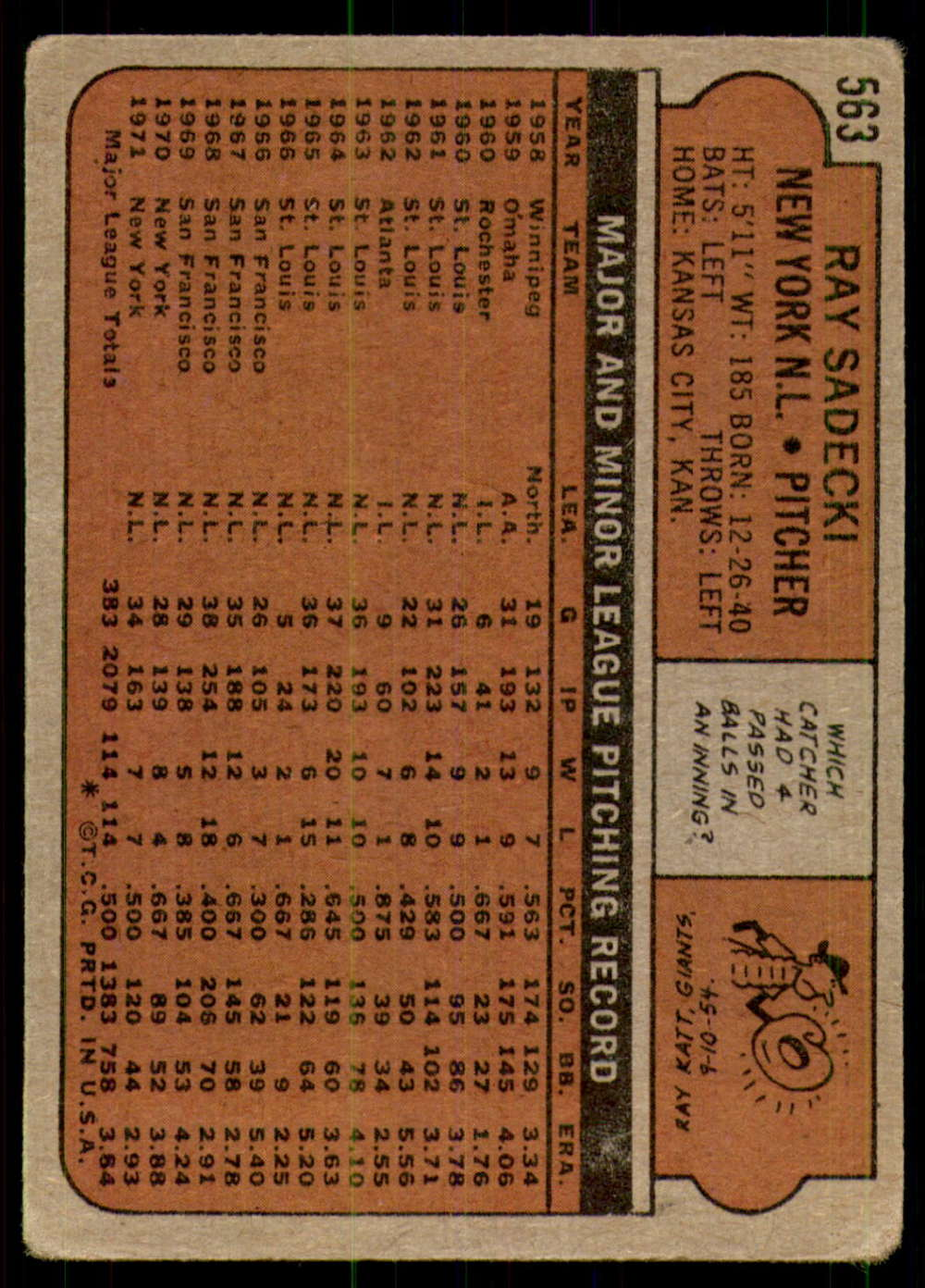 1972-Topps-Baseball-Set-497-787-Pick-Your-Card-Each-Card-Scanned-Front-amp-Back thumbnail 125