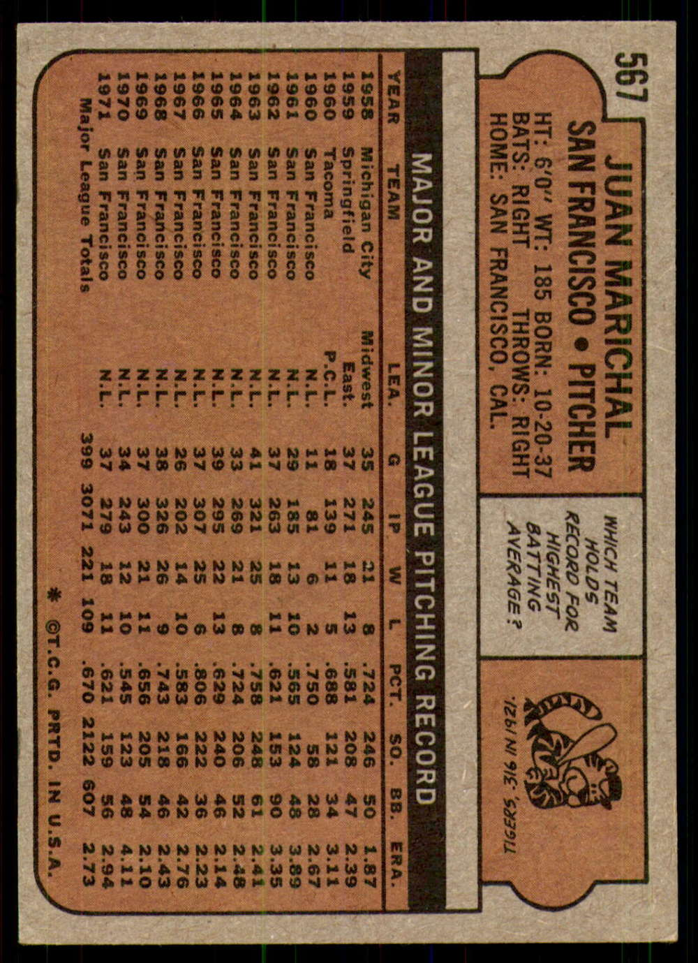 1972-Topps-Baseball-Set-497-787-Pick-Your-Card-Each-Card-Scanned-Front-amp-Back thumbnail 137