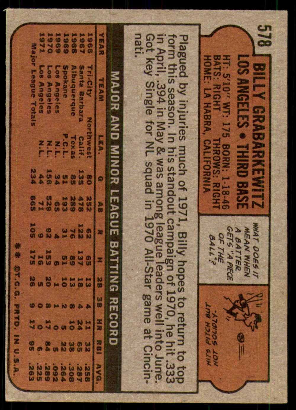 1972-Topps-Baseball-Set-497-787-Pick-Your-Card-Each-Card-Scanned-Front-amp-Back thumbnail 149