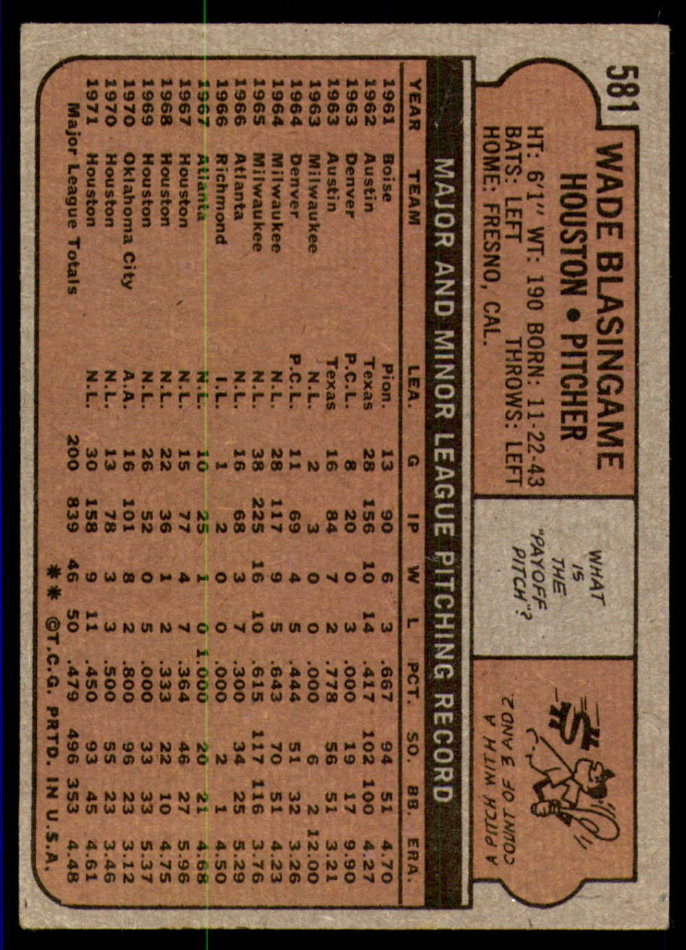1972-Topps-Baseball-Set-497-787-Pick-Your-Card-Each-Card-Scanned-Front-amp-Back thumbnail 151