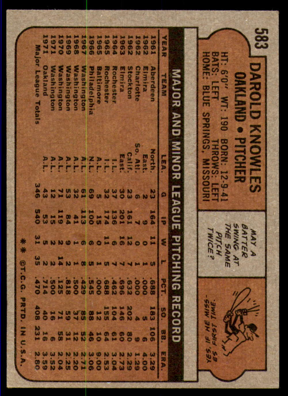1972-Topps-Baseball-Set-497-787-Pick-Your-Card-Each-Card-Scanned-Front-amp-Back thumbnail 155