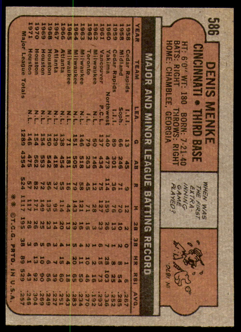 1972-Topps-Baseball-Set-497-787-Pick-Your-Card-Each-Card-Scanned-Front-amp-Back thumbnail 161