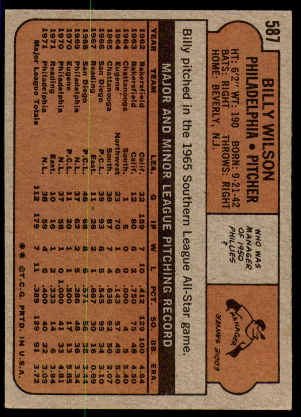 1972-Topps-Baseball-Set-497-787-Pick-Your-Card-Each-Card-Scanned-Front-amp-Back thumbnail 163