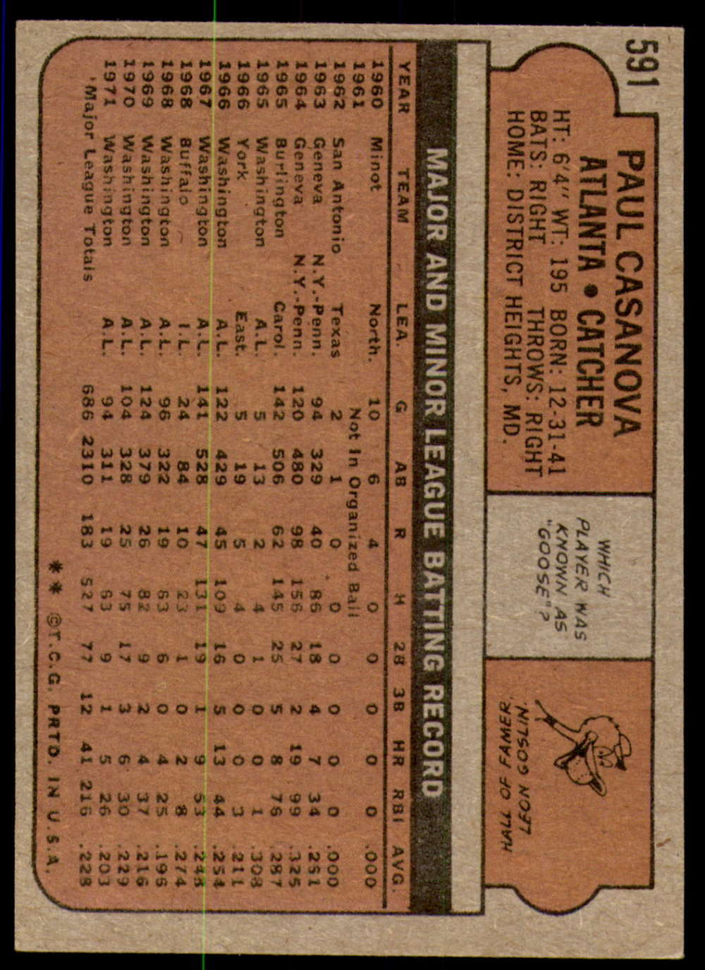 1972-Topps-Baseball-Set-497-787-Pick-Your-Card-Each-Card-Scanned-Front-amp-Back thumbnail 165