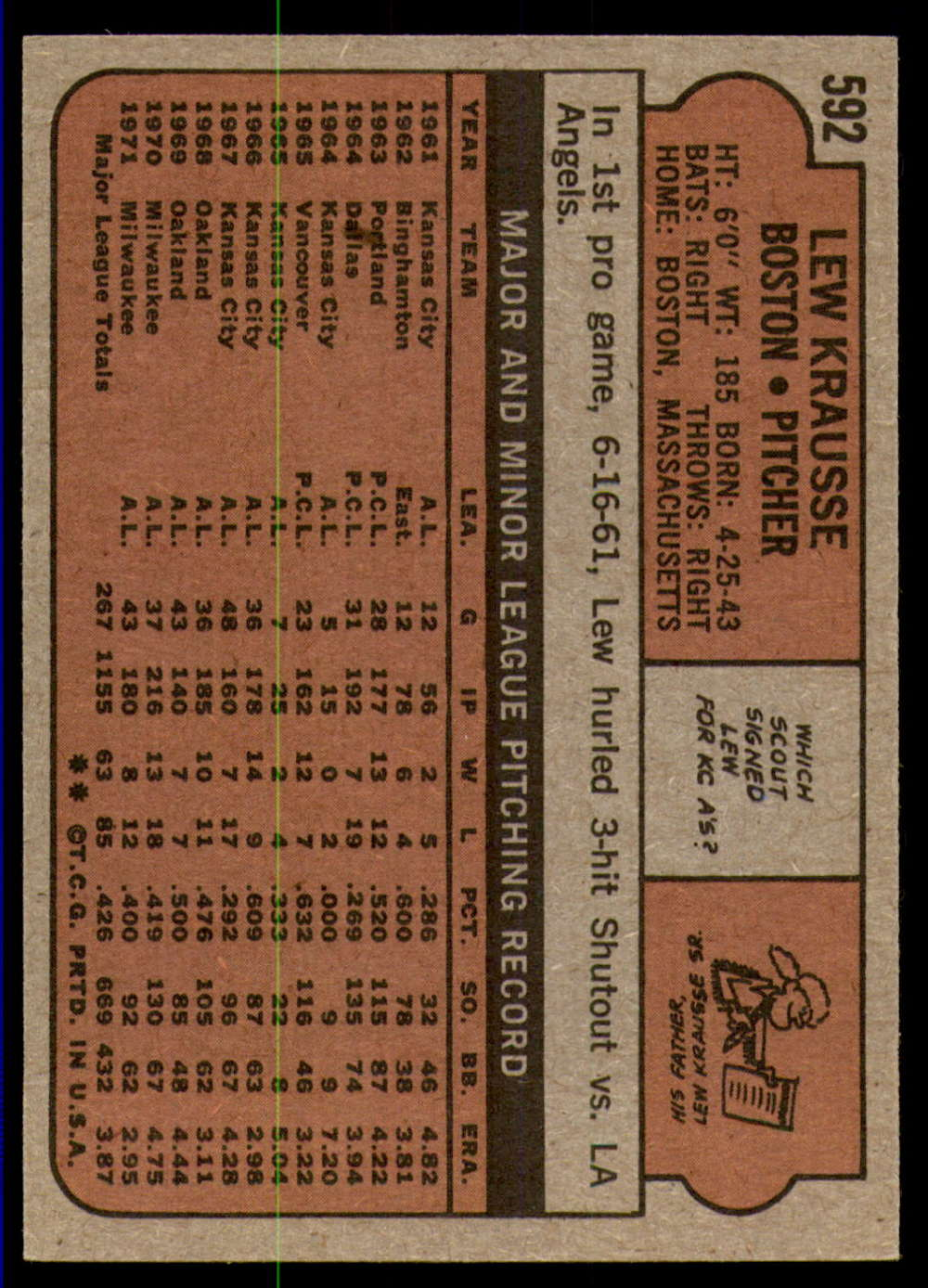 1972-Topps-Baseball-Set-497-787-Pick-Your-Card-Each-Card-Scanned-Front-amp-Back thumbnail 167