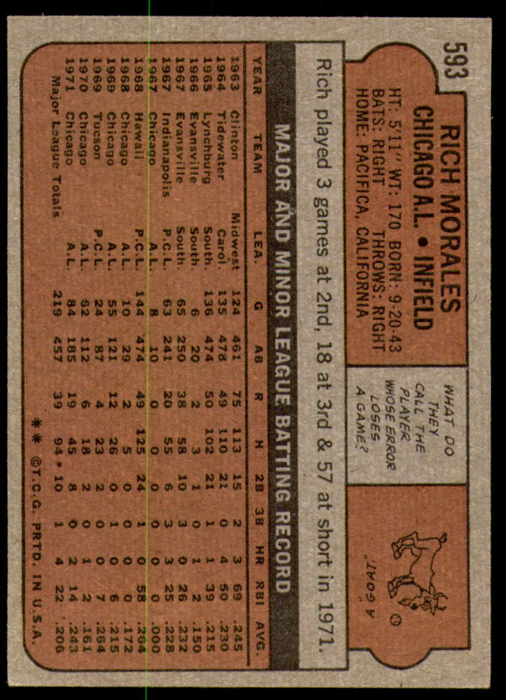 1972-Topps-Baseball-Set-497-787-Pick-Your-Card-Each-Card-Scanned-Front-amp-Back thumbnail 169