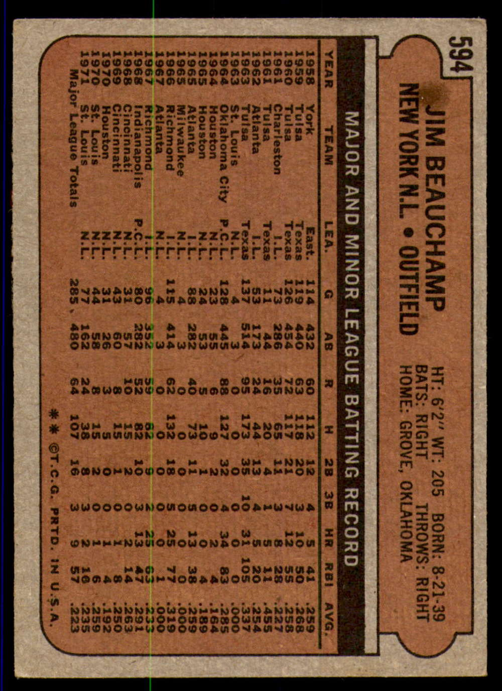 1972-Topps-Baseball-Set-497-787-Pick-Your-Card-Each-Card-Scanned-Front-amp-Back thumbnail 171