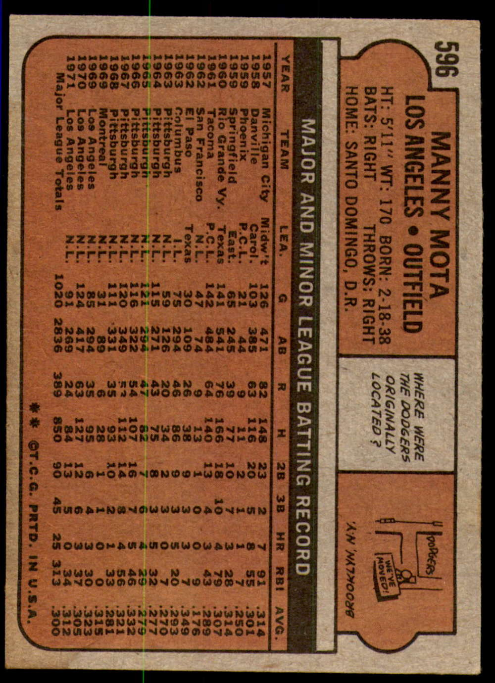 1972-Topps-Baseball-Set-497-787-Pick-Your-Card-Each-Card-Scanned-Front-amp-Back thumbnail 173