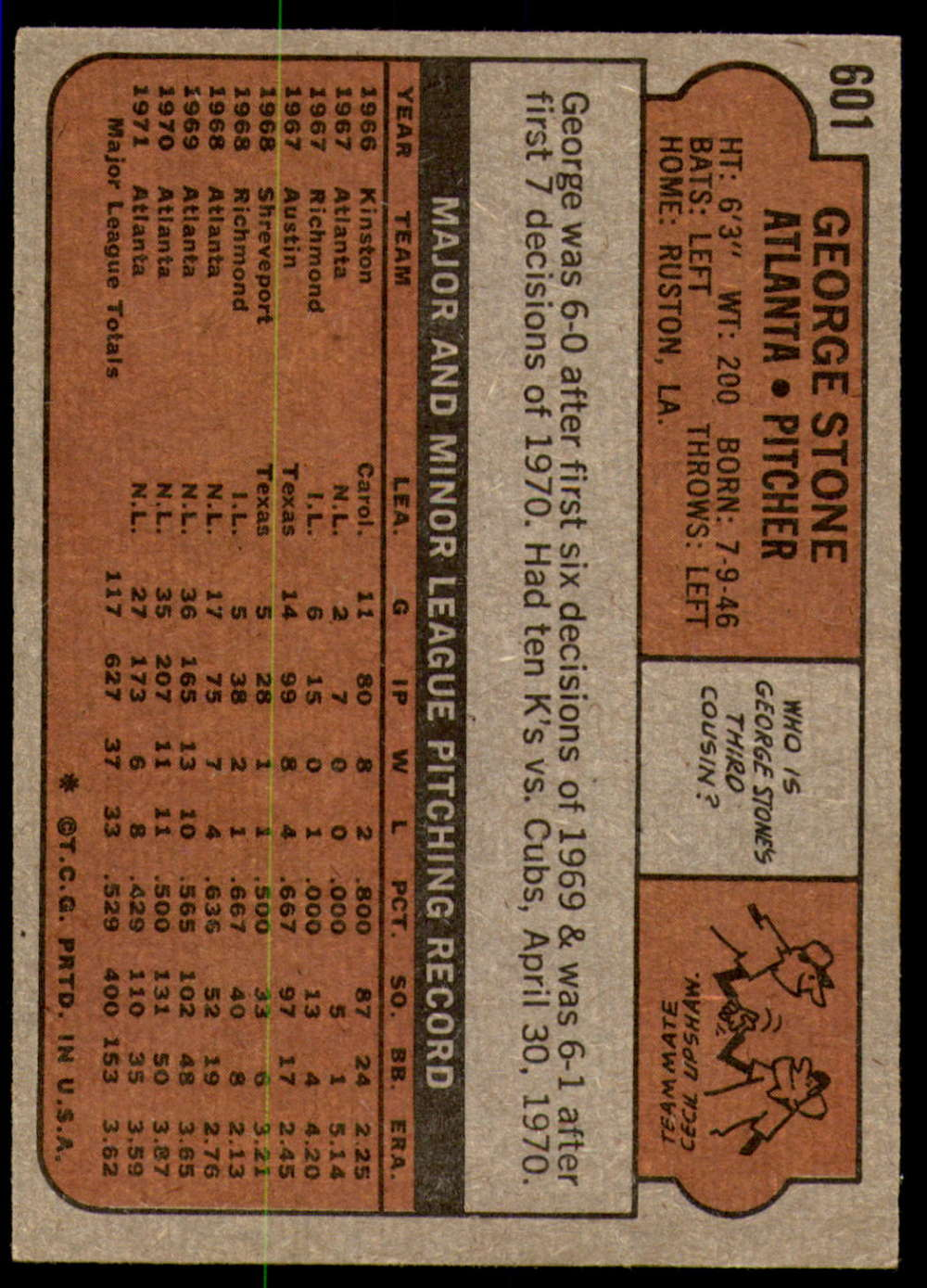 1972-Topps-Baseball-Set-497-787-Pick-Your-Card-Each-Card-Scanned-Front-amp-Back thumbnail 179