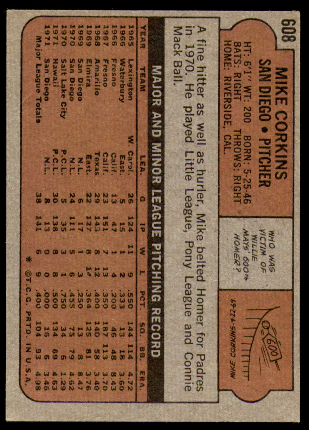 1972-Topps-Baseball-Set-497-787-Pick-Your-Card-Each-Card-Scanned-Front-amp-Back thumbnail 189