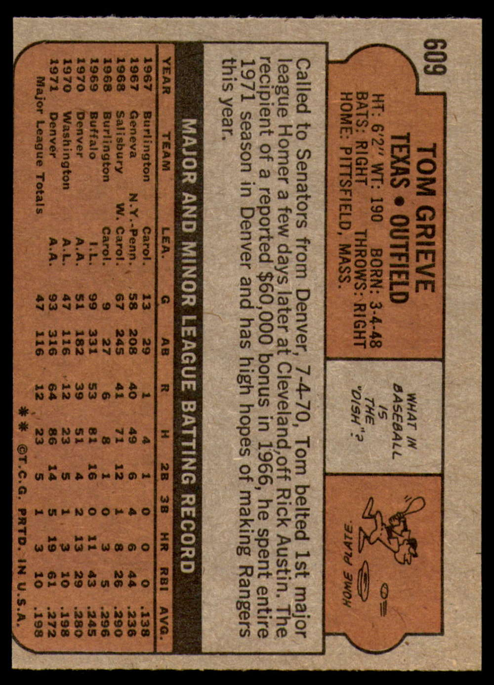 1972-Topps-Baseball-Set-497-787-Pick-Your-Card-Each-Card-Scanned-Front-amp-Back thumbnail 191