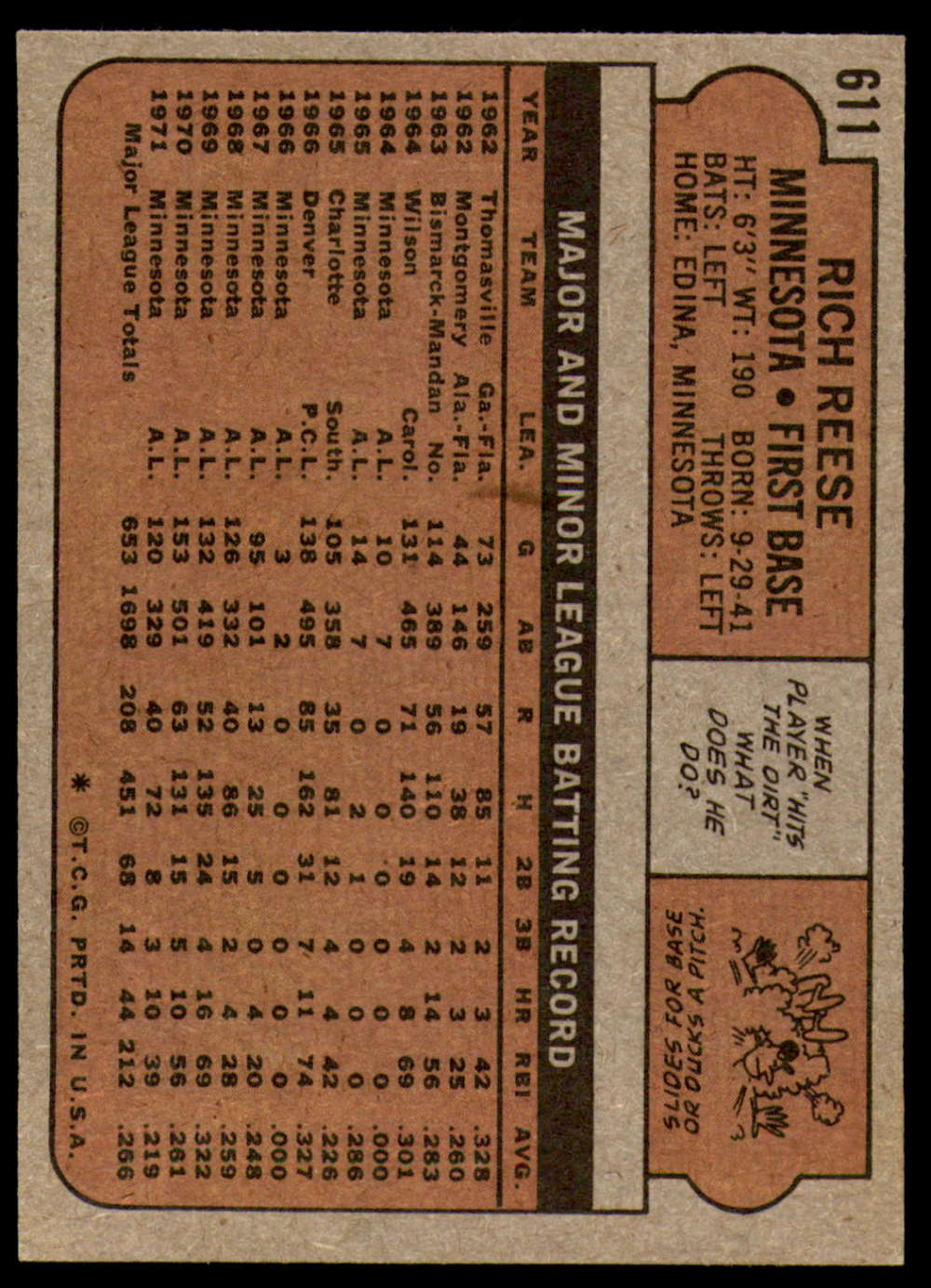 1972-Topps-Baseball-Set-497-787-Pick-Your-Card-Each-Card-Scanned-Front-amp-Back thumbnail 193