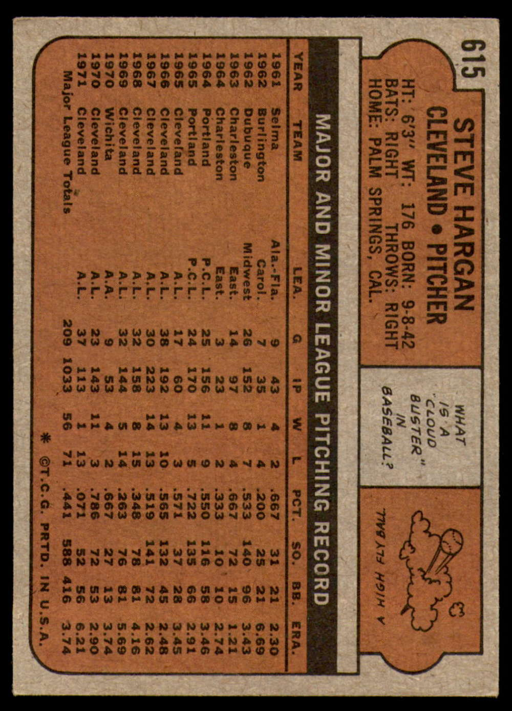 1972-Topps-Baseball-Set-497-787-Pick-Your-Card-Each-Card-Scanned-Front-amp-Back thumbnail 197