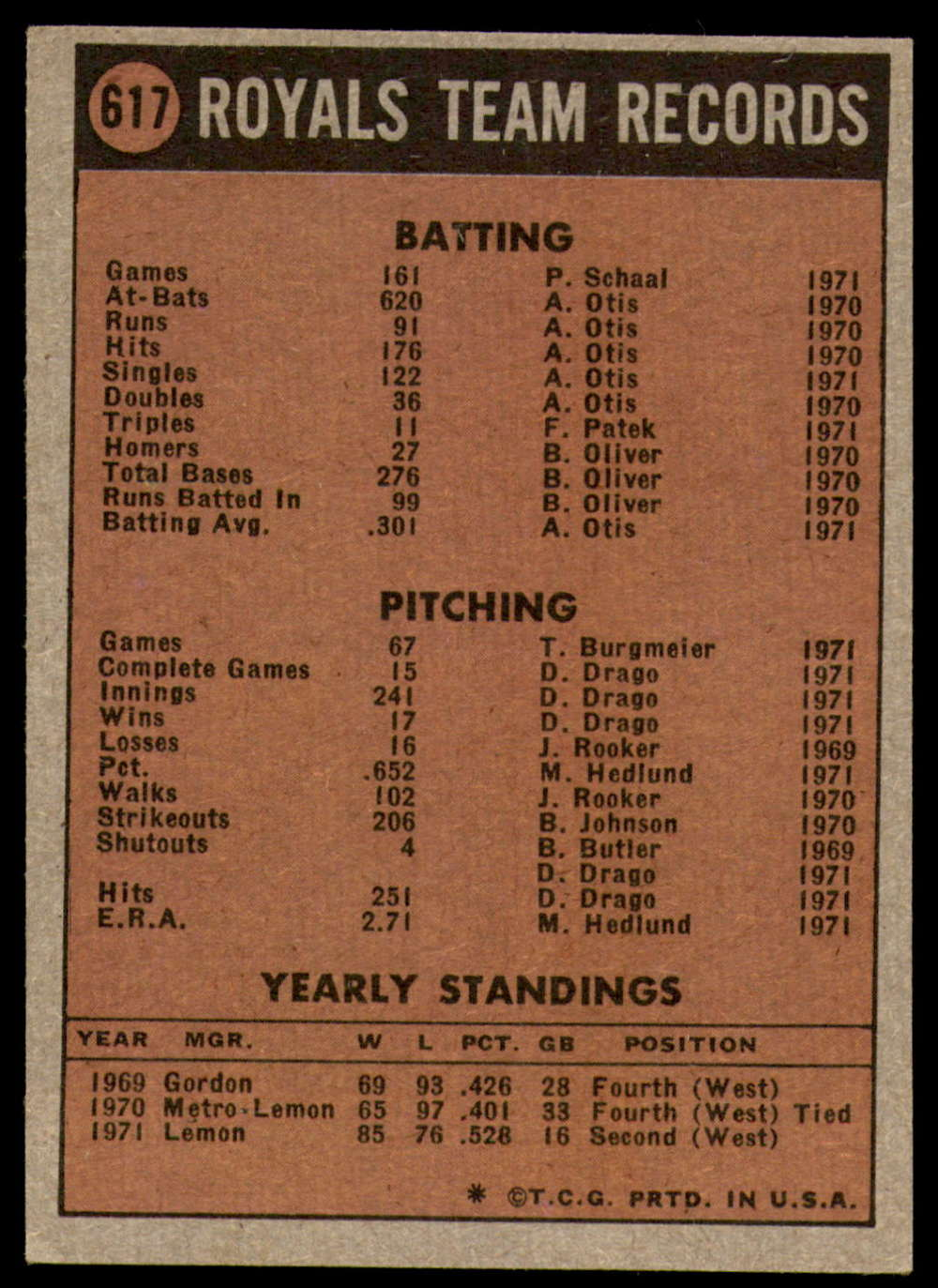 1972-Topps-Baseball-Set-497-787-Pick-Your-Card-Each-Card-Scanned-Front-amp-Back thumbnail 199