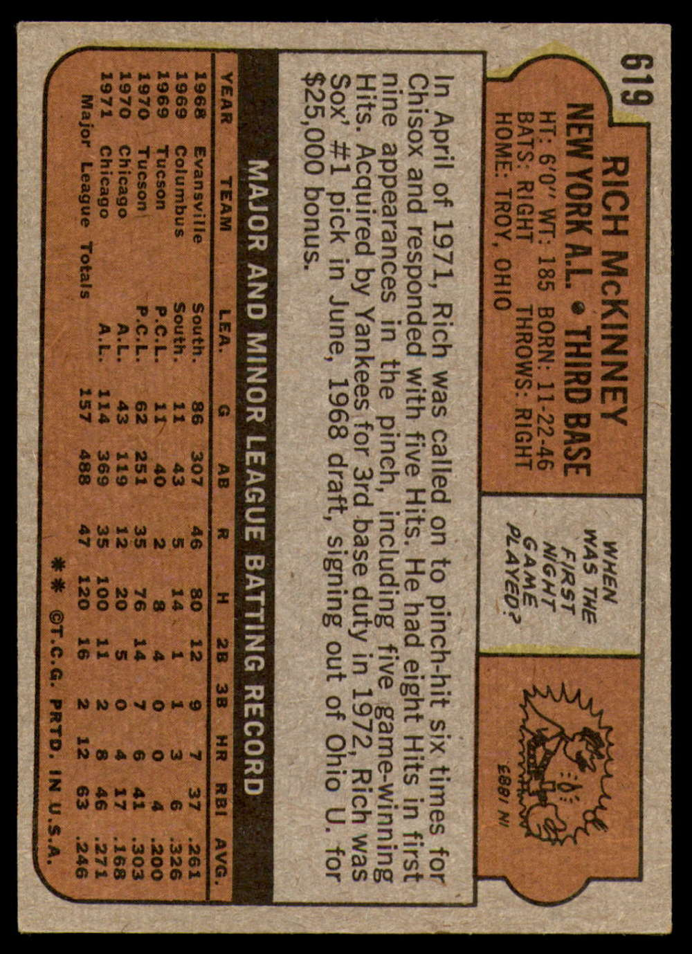 1972-Topps-Baseball-Set-497-787-Pick-Your-Card-Each-Card-Scanned-Front-amp-Back thumbnail 201
