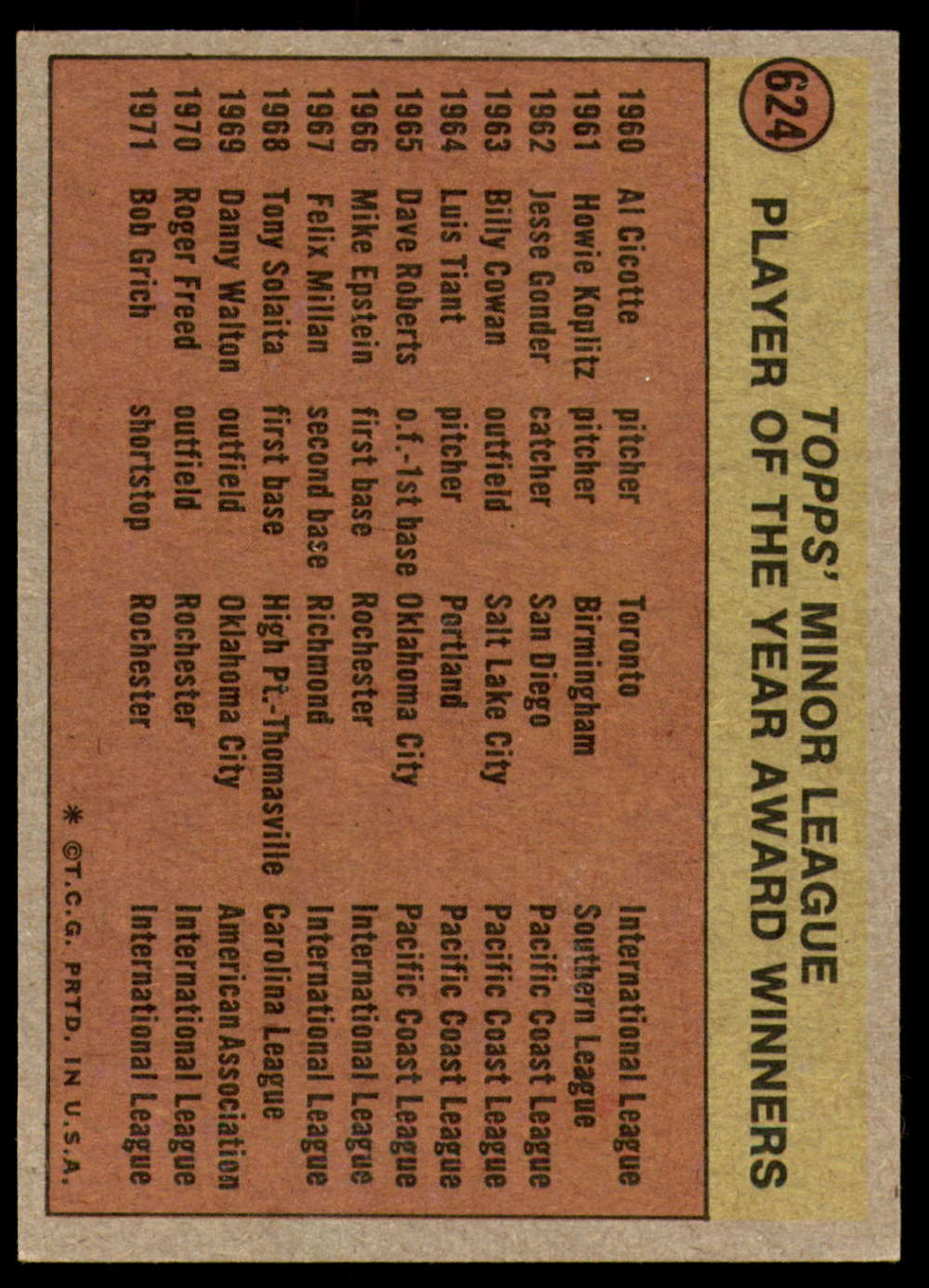 1972-Topps-Baseball-Set-497-787-Pick-Your-Card-Each-Card-Scanned-Front-amp-Back thumbnail 207