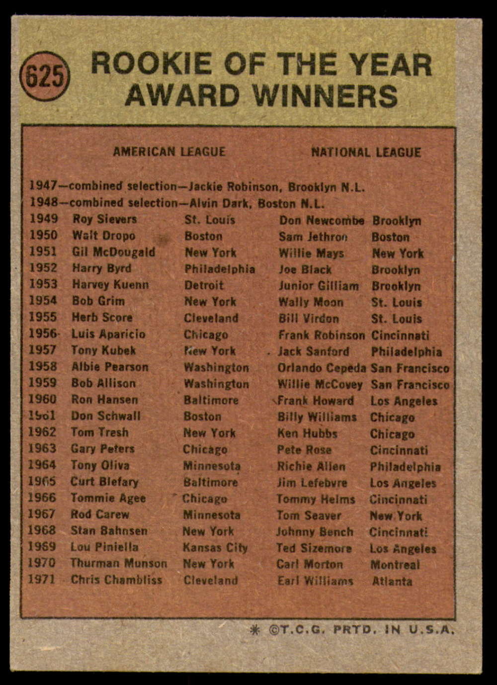 1972-Topps-Baseball-Set-497-787-Pick-Your-Card-Each-Card-Scanned-Front-amp-Back thumbnail 209