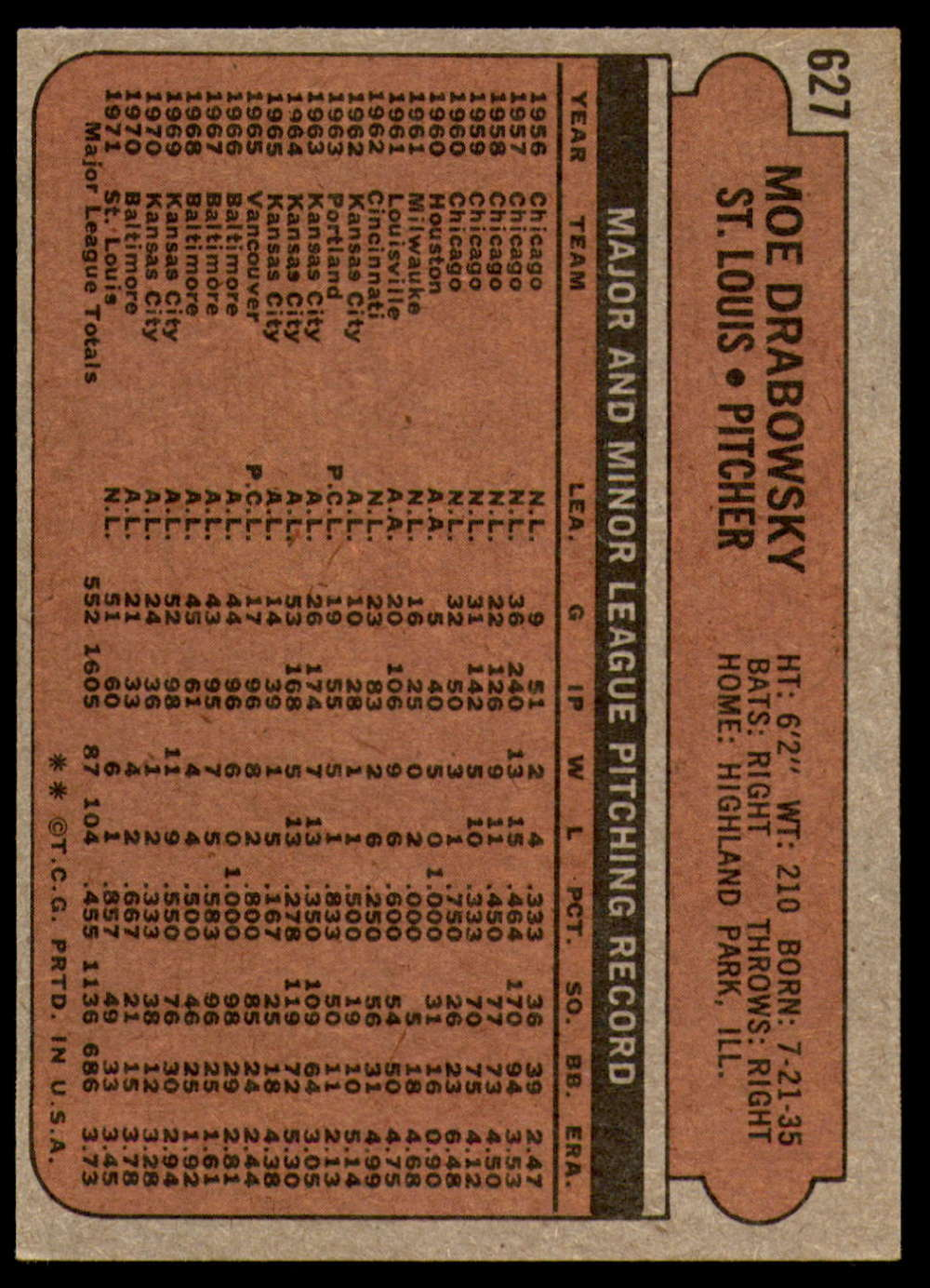 1972-Topps-Baseball-Set-497-787-Pick-Your-Card-Each-Card-Scanned-Front-amp-Back thumbnail 211