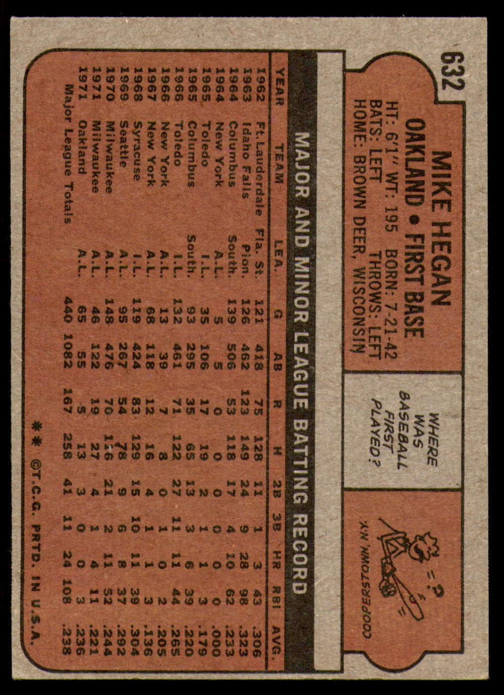 1972-Topps-Baseball-Set-497-787-Pick-Your-Card-Each-Card-Scanned-Front-amp-Back thumbnail 217