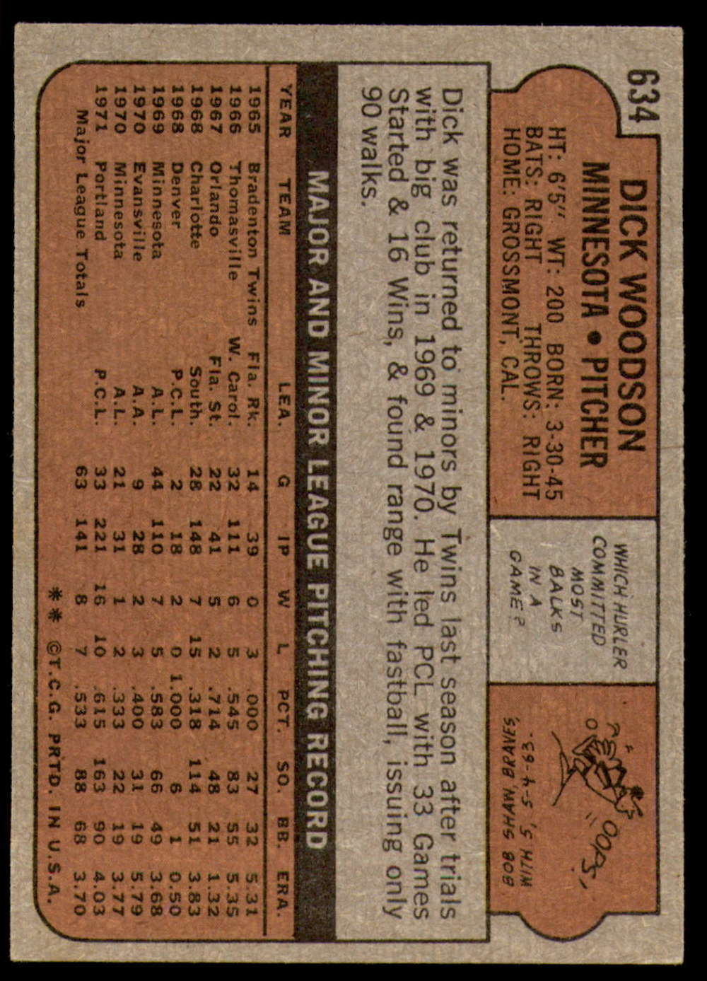 1972-Topps-Baseball-Set-497-787-Pick-Your-Card-Each-Card-Scanned-Front-amp-Back thumbnail 219