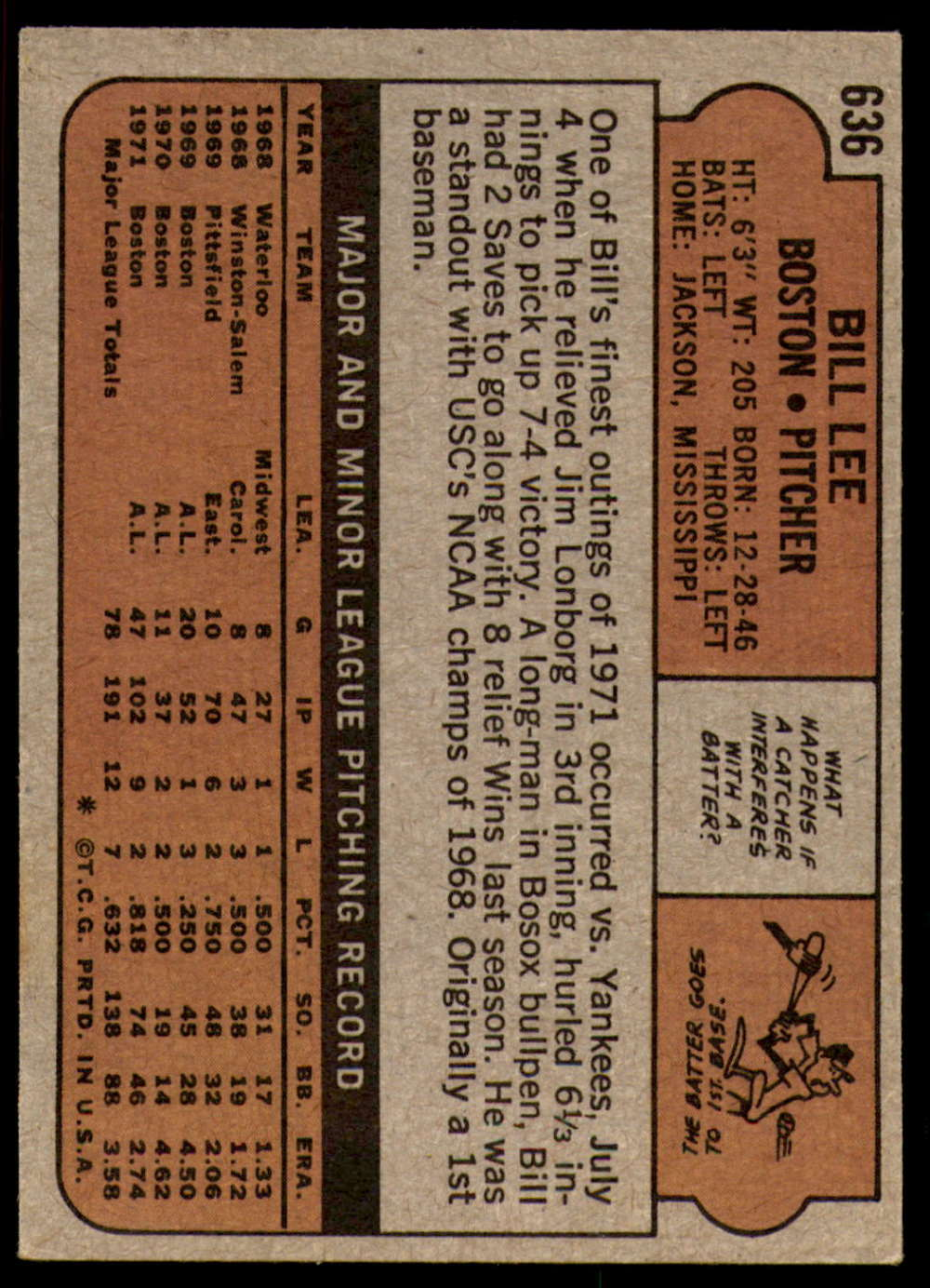 1972-Topps-Baseball-Set-497-787-Pick-Your-Card-Each-Card-Scanned-Front-amp-Back thumbnail 221