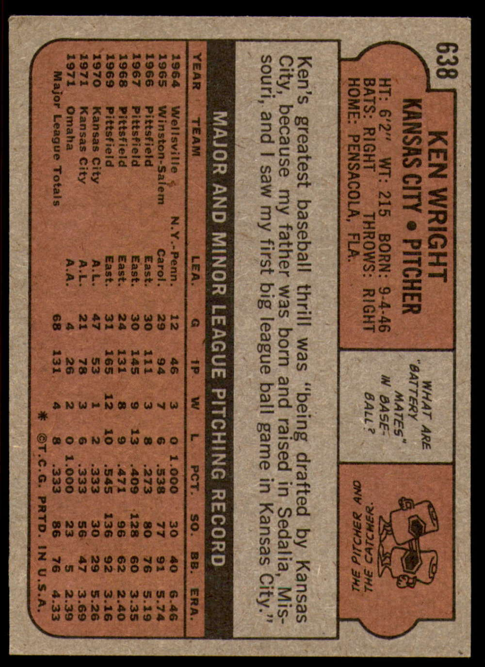 1972-Topps-Baseball-Set-497-787-Pick-Your-Card-Each-Card-Scanned-Front-amp-Back thumbnail 225
