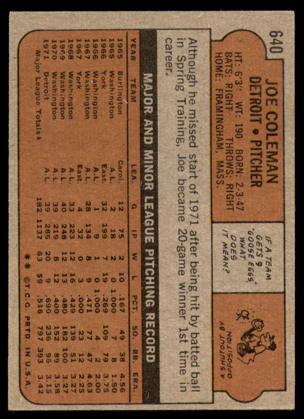 1972-Topps-Baseball-Set-497-787-Pick-Your-Card-Each-Card-Scanned-Front-amp-Back thumbnail 227