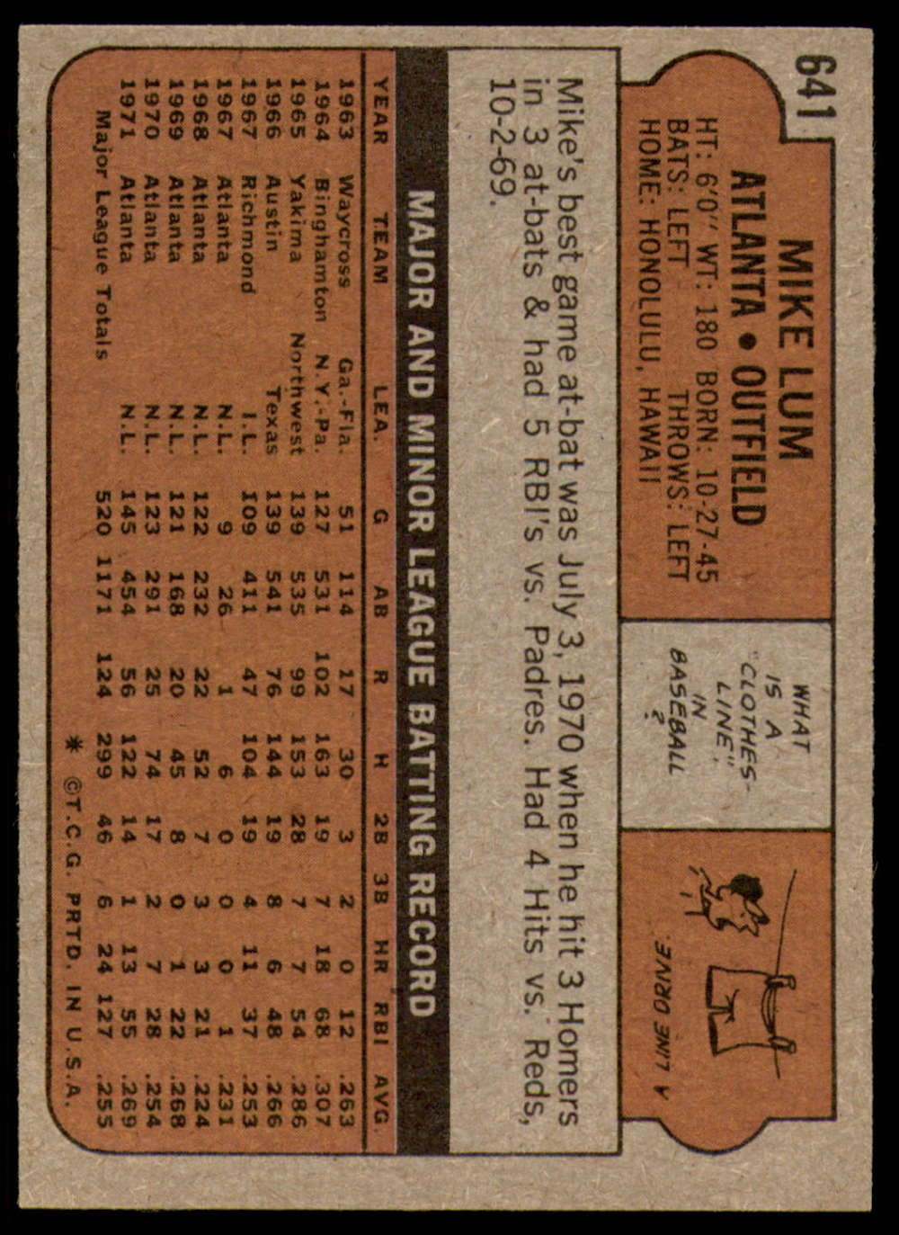 1972-Topps-Baseball-Set-497-787-Pick-Your-Card-Each-Card-Scanned-Front-amp-Back thumbnail 229