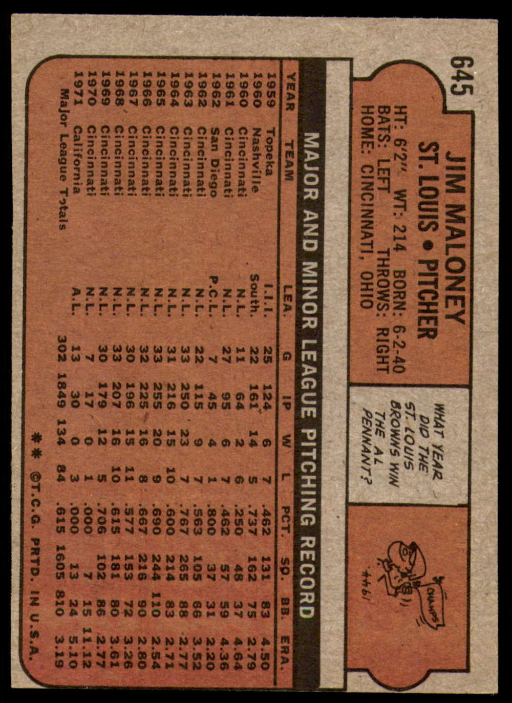 1972-Topps-Baseball-Set-497-787-Pick-Your-Card-Each-Card-Scanned-Front-amp-Back thumbnail 237