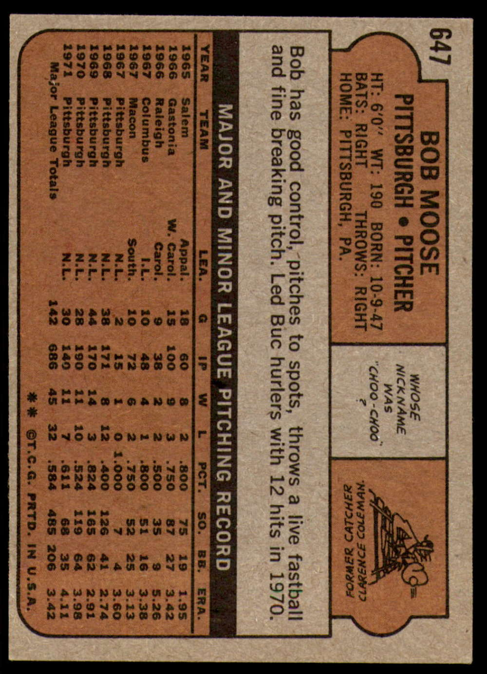1972-Topps-Baseball-Set-497-787-Pick-Your-Card-Each-Card-Scanned-Front-amp-Back thumbnail 241