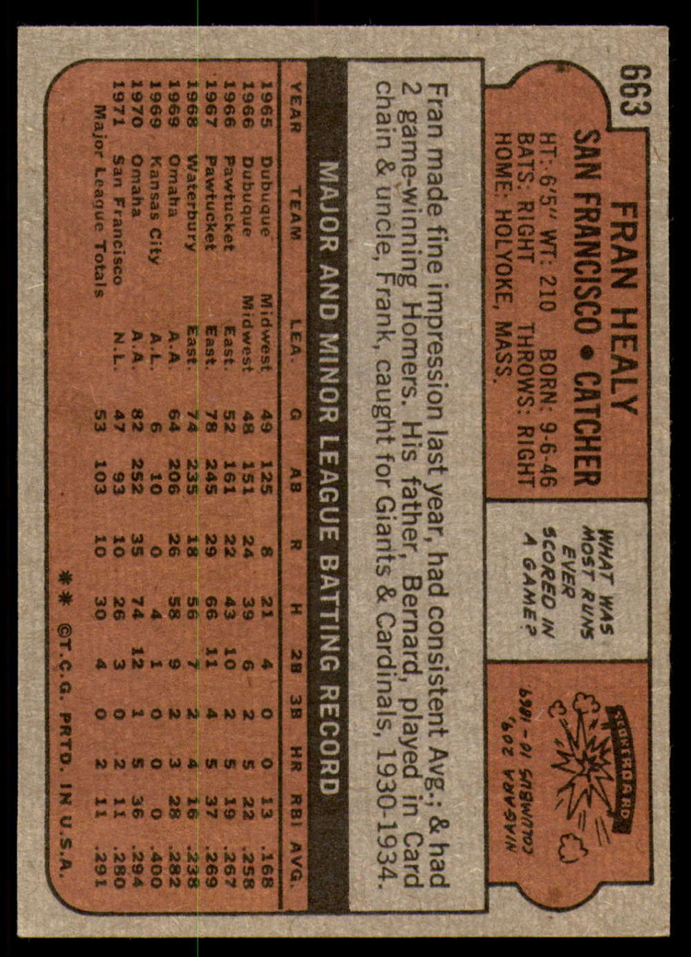 1972-Topps-Baseball-Set-497-787-Pick-Your-Card-Each-Card-Scanned-Front-amp-Back thumbnail 255