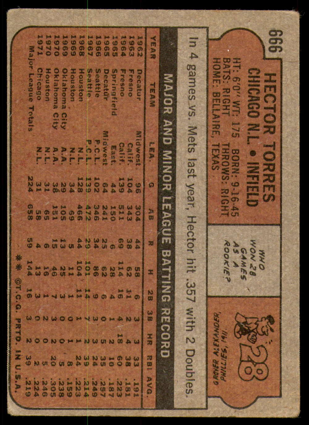 1972-Topps-Baseball-Set-497-787-Pick-Your-Card-Each-Card-Scanned-Front-amp-Back thumbnail 257