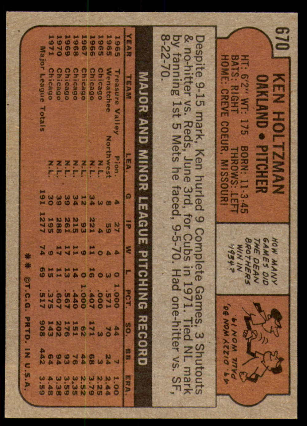 1972-Topps-Baseball-Set-497-787-Pick-Your-Card-Each-Card-Scanned-Front-amp-Back thumbnail 261