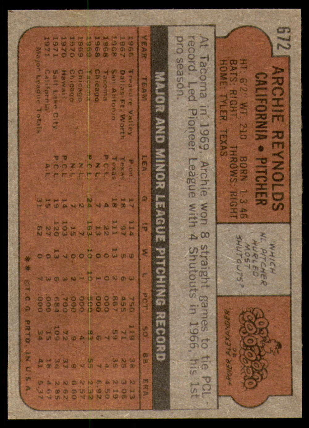 1972-Topps-Baseball-Set-497-787-Pick-Your-Card-Each-Card-Scanned-Front-amp-Back thumbnail 263