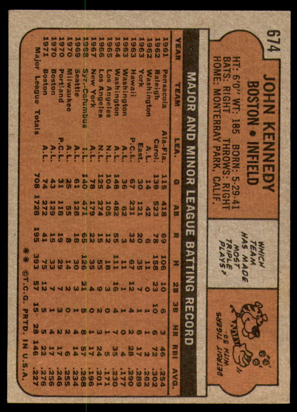 1972-Topps-Baseball-Set-497-787-Pick-Your-Card-Each-Card-Scanned-Front-amp-Back thumbnail 267