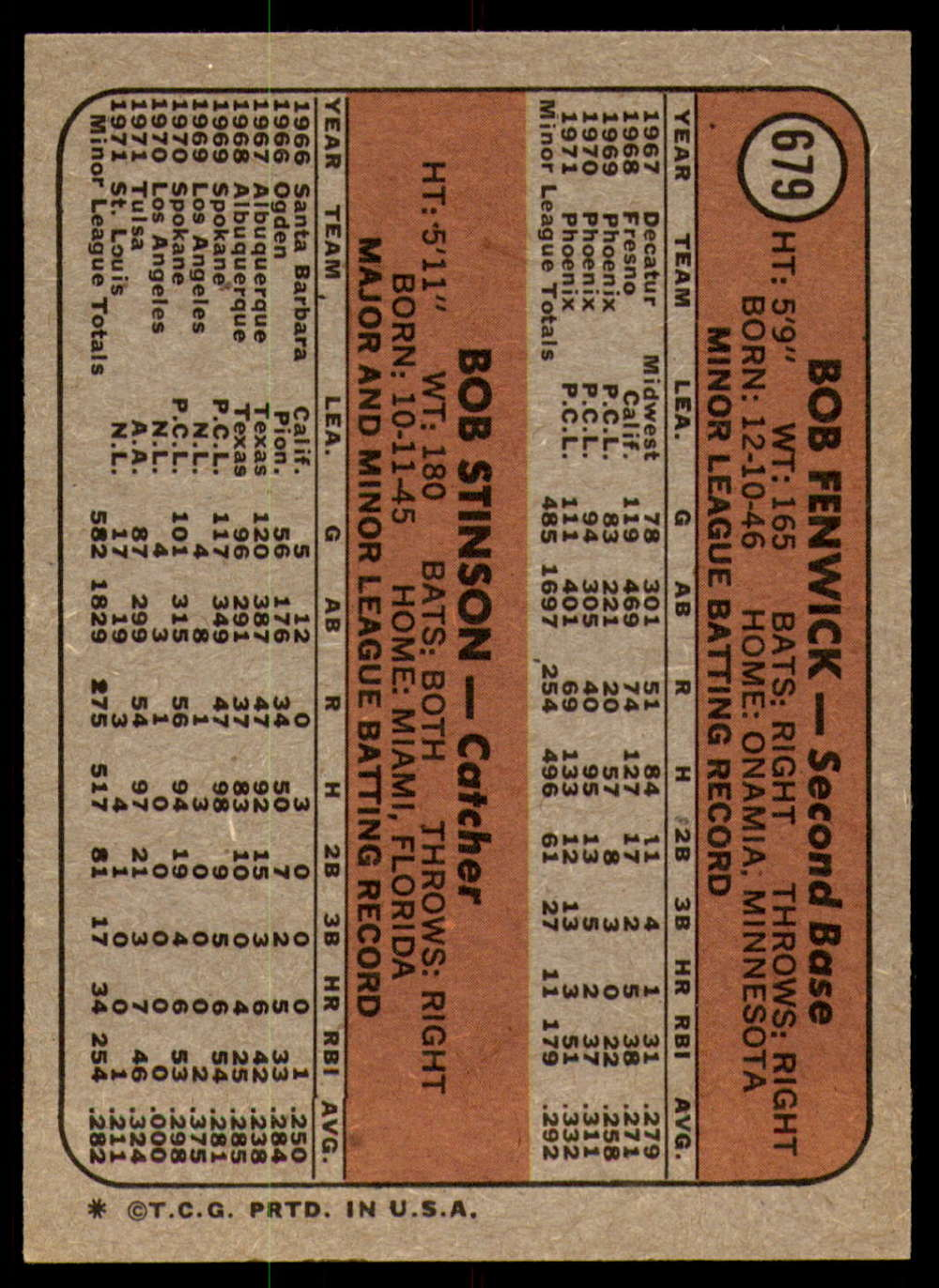 1972-Topps-Baseball-Set-497-787-Pick-Your-Card-Each-Card-Scanned-Front-amp-Back thumbnail 273