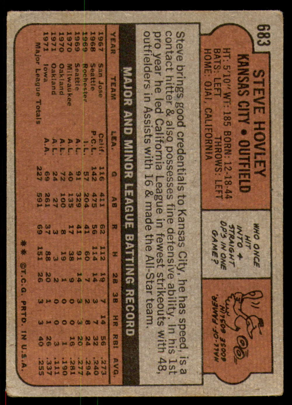 1972-Topps-Baseball-Set-497-787-Pick-Your-Card-Each-Card-Scanned-Front-amp-Back thumbnail 277