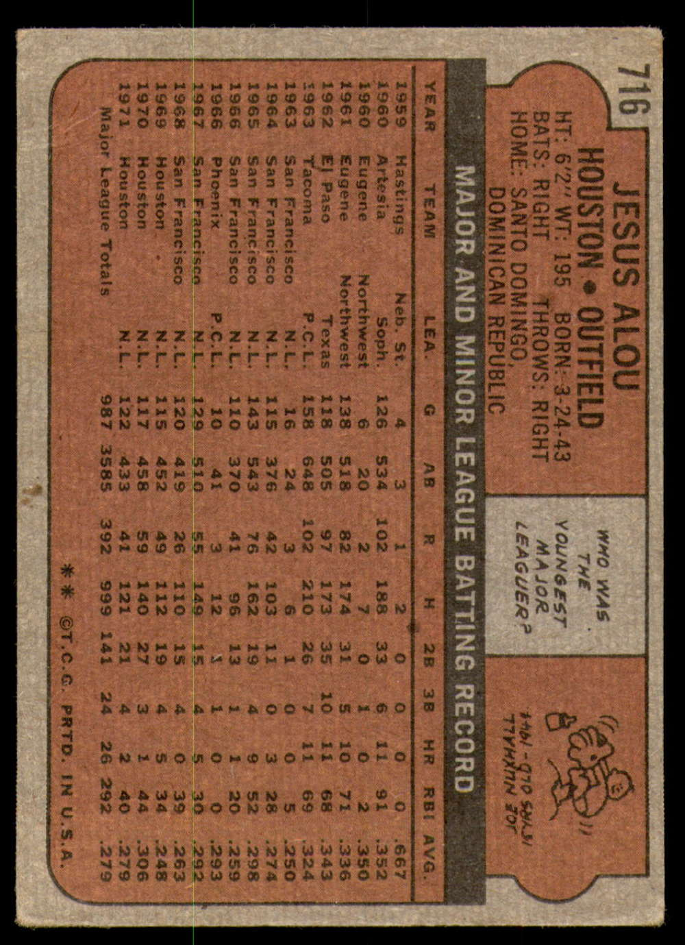 1972-Topps-Baseball-Set-497-787-Pick-Your-Card-Each-Card-Scanned-Front-amp-Back thumbnail 289