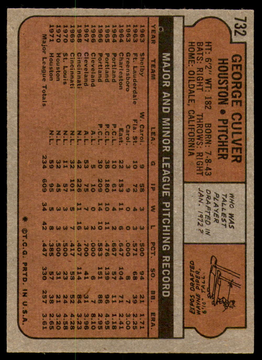 1972-Topps-Baseball-Set-497-787-Pick-Your-Card-Each-Card-Scanned-Front-amp-Back thumbnail 305