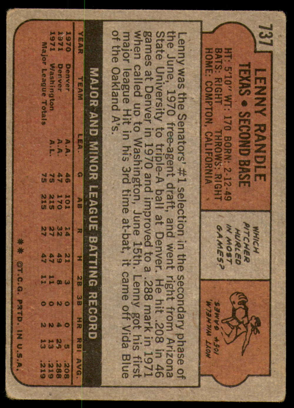 1972-Topps-Baseball-Set-497-787-Pick-Your-Card-Each-Card-Scanned-Front-amp-Back thumbnail 309