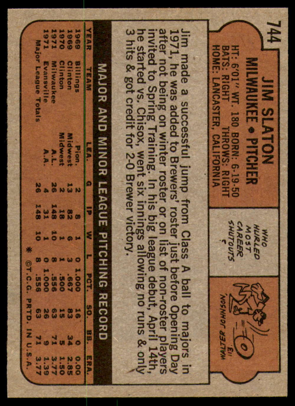 1972-Topps-Baseball-Set-497-787-Pick-Your-Card-Each-Card-Scanned-Front-amp-Back thumbnail 317