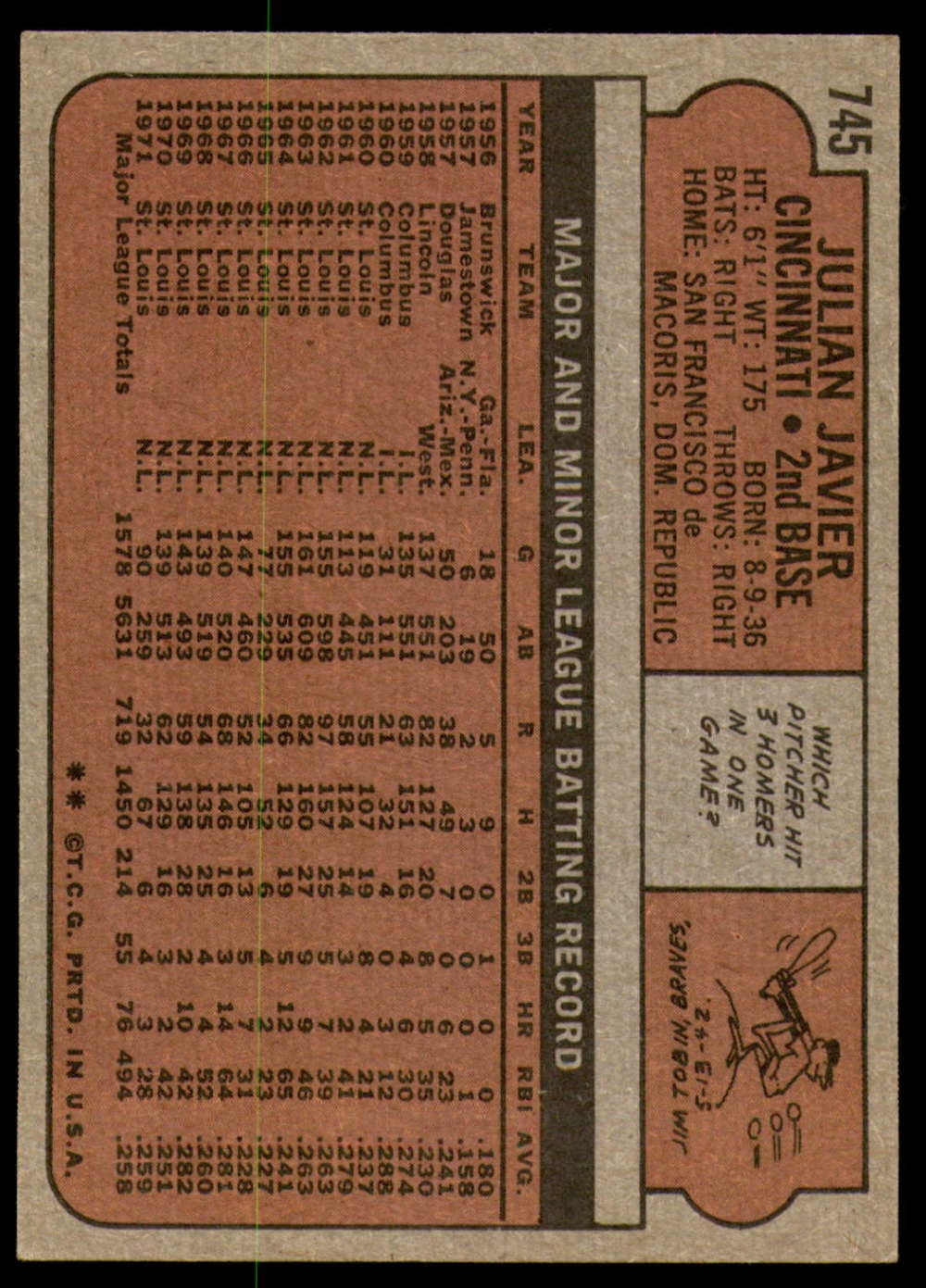 1972-Topps-Baseball-Set-497-787-Pick-Your-Card-Each-Card-Scanned-Front-amp-Back thumbnail 319