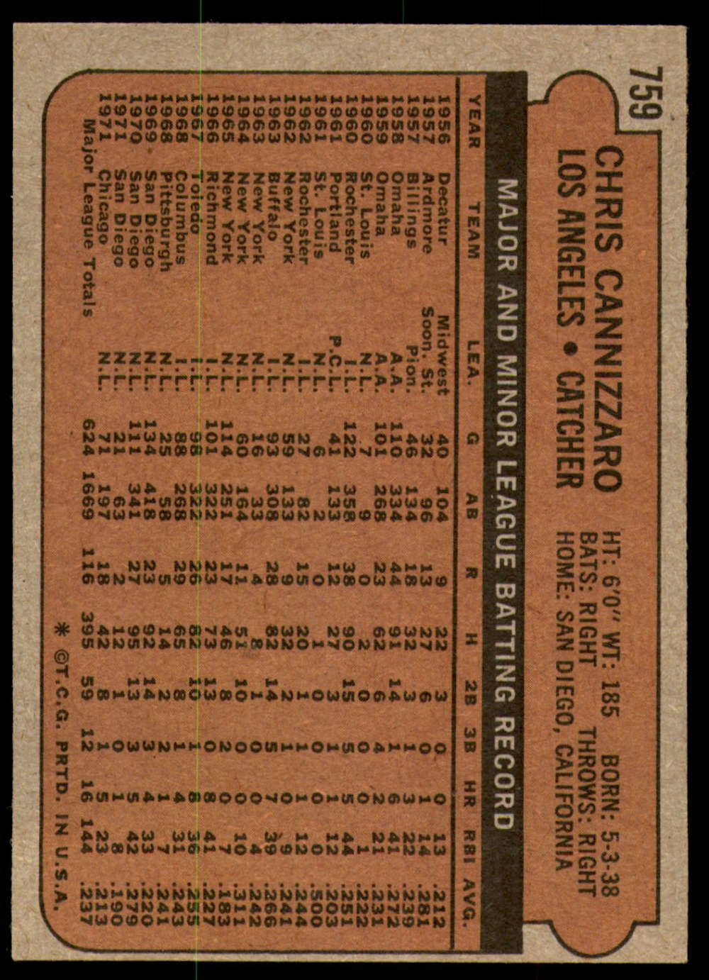 1972-Topps-Baseball-Set-497-787-Pick-Your-Card-Each-Card-Scanned-Front-amp-Back thumbnail 337